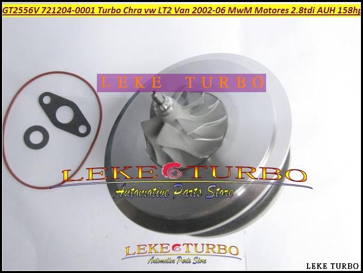 Free Ship Turbo Cartridge CHRA GT2556V 721204-5001S 721204 721204-0001 For Volkswagen VW LT II Van 02- For MWM MOTORES AUH 2.8L автобус volkswagen lt 28