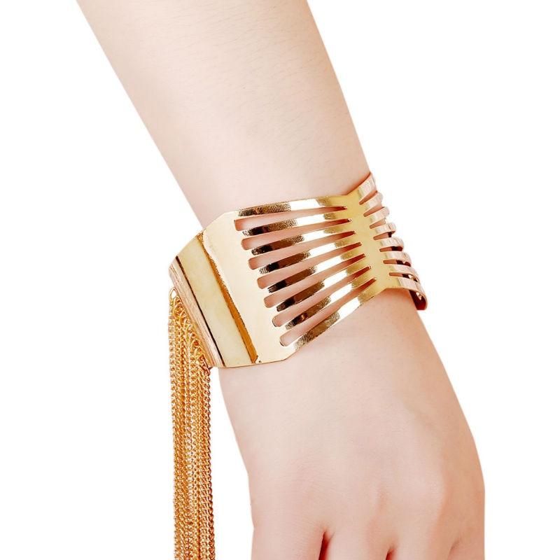 """""""Europenan"""" ir Amerikos mados aukso spalvos rankogalių - Mados papuošalai - Nuotrauka 5"""
