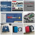 Alldata and mitchell ondemand software 2015+ElsaWin+vivid workshop data ect alldata 50 in1tb usb hdd work for all car and truck