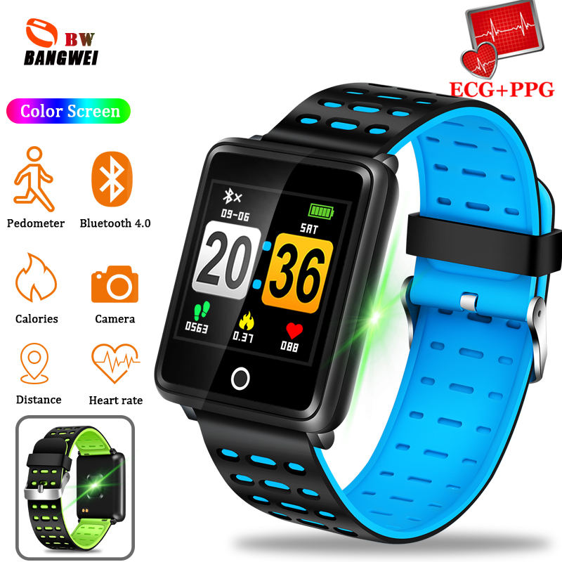 BANGWEI Smart watches Men Women Waterproof Sport Watch Fitness tracker Heart Rate Monitor Bluetooth WristWatch For Android IOSBANGWEI Smart watches Men Women Waterproof Sport Watch Fitness tracker Heart Rate Monitor Bluetooth WristWatch For Android IOS