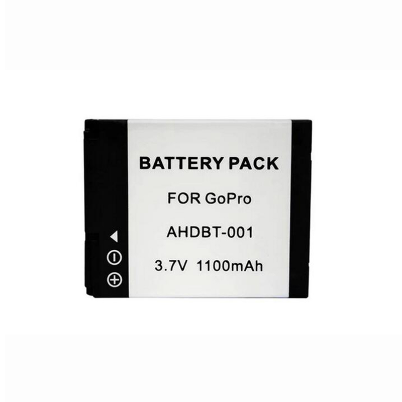 цена на 1Pcs AHDBT-001 Replacement Battery For GoPro HD HERO 1 HERO2 Camera AHDBT 001 battery for Gopro Hero 2 1