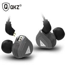 Neue QKZ VK2 2DD In Ohr Kopfhörer HIFI DJ Monito Laufende Sport Kopfhörer Hybrid Headset Bass Earbuds Mit Mic Ersetzt kabel