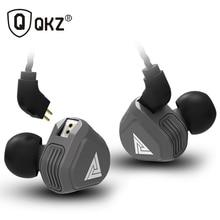 جديد QKZ VK2 2DD في الأذن سماعة ايفي DJ رصد ومراقبة تشغيل سماعة أذن تستخدم عند ممارسة الرياضة الهجين سماعة باس سماعات الأذن مع هيئة التصنيع العسكري استبدال كابل