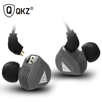 Yeni QKZ VK2 2DD Kulak Kulaklık HIFI DJ Monito Koşu Spor Kulaklık Hibrid Kulaklık Bas mikrofonlu kulaklık Yerine Kablo