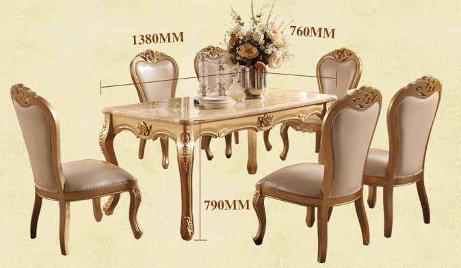 Dining Room Marble Table Set
