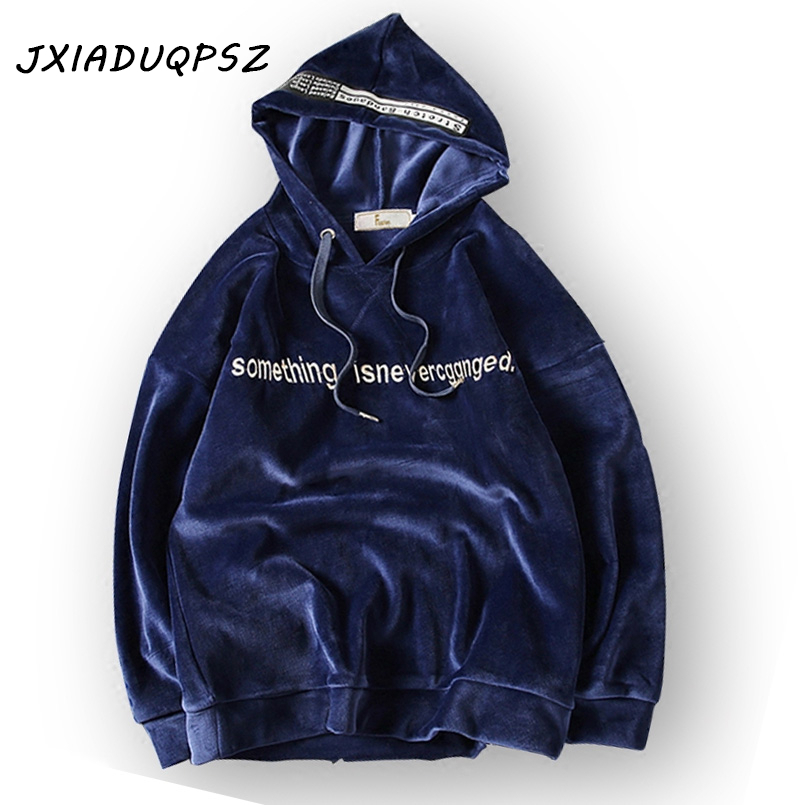 New Autumn Winter Solid Letter Fashion Trend of hip hop mens kanye west Streetwear Hoodies Men pullover Sweatshirts 5XL