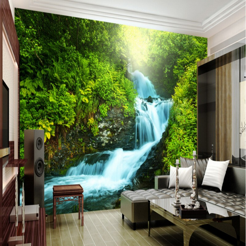 Beibehang Custom Nature Wallpaper 3D Stereoscopic 3D Photo