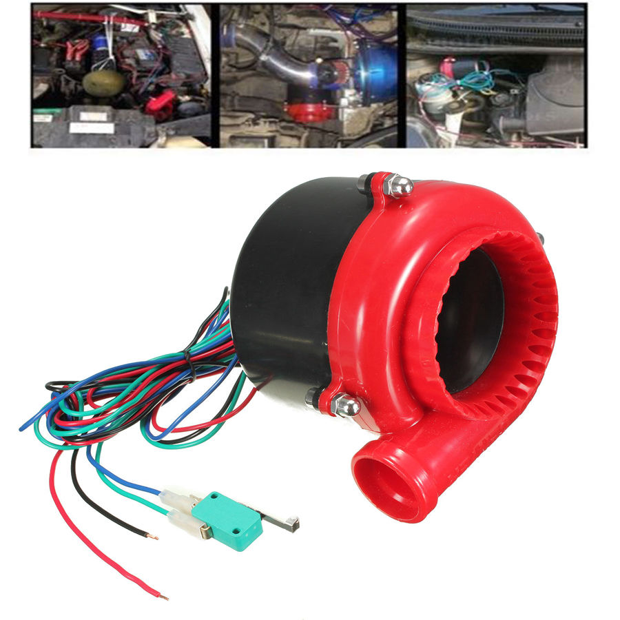 POSSBAY Universal Car Turbo Audio Snail Type Fake Dump