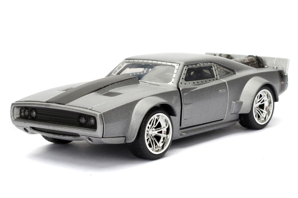 Jada 1:24 FAST & FURIOUS F8 Dodge DOM'S Ice Charger Diecast Model Racing Car NEW IN BOX