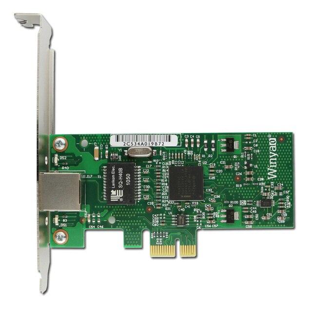 PCI-E X1 Gigabit Ethernet Сетевой Карты Адаптера 1000 Мбит Микросхем 82573 для Intel