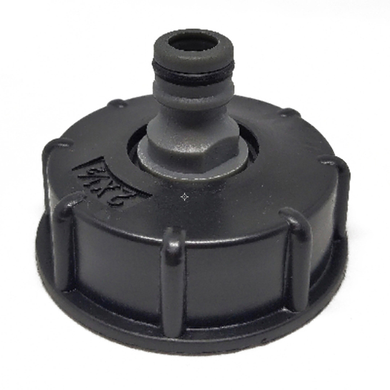 HTB1uJLQSFzqK1RjSZFvq6AB7VXa3 1Pc New IBC Hose Adapter Reducer Connector Water Tank Fitting 2'' Standard Coarse Thread Durable Garden Hose Pipe Tap Storage