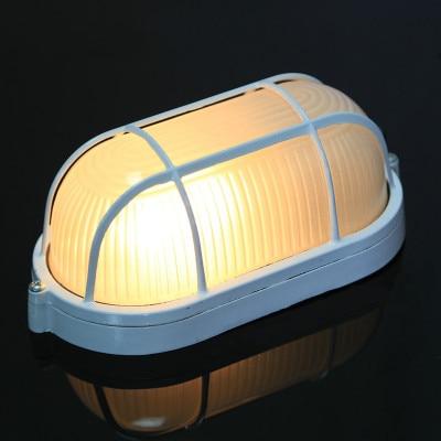 Klasický koupelnový stropní světlo kuchyňský balkón vedl externí venkovní zahradní žárovka hliník E27 žárovka montážní bílá voděodolná