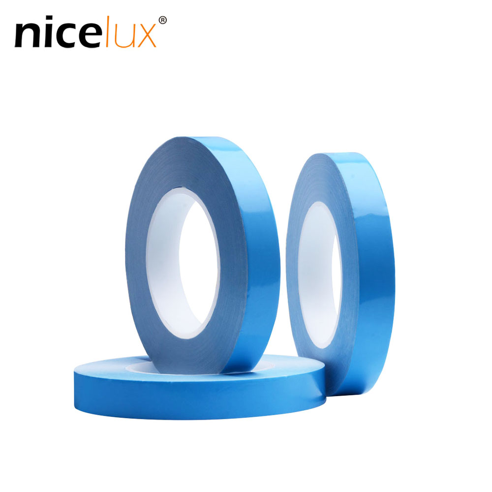 25meter/Roll 8mm 10mm 12mm 20mm Width Transfer Tape Double Side Thermal Conductive Adhesive Tape for