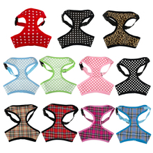 Breathable Printed Mesh Padded Puppy Small Dog Pet Harness Vest Clothes Various Style For Chihuahua