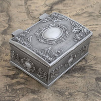 2016 New Arrived Vintage Retro Metal Pewter Tin Alloy Jewelry Gift Box Necklace Pendant Earrings Ring