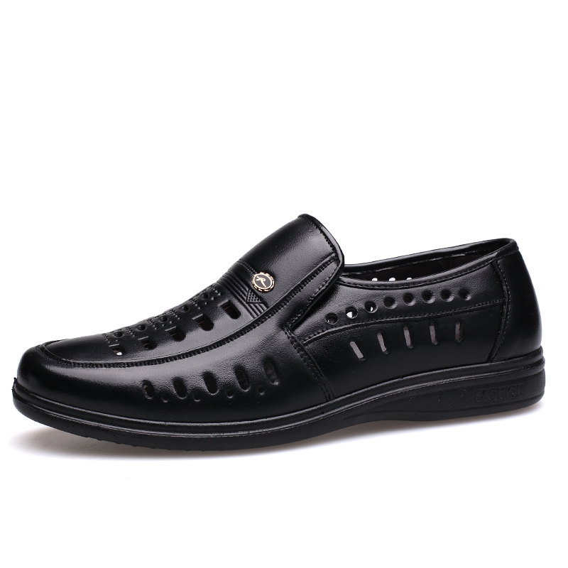 quality free shipping low price outlet pictures MUHUISEN Summer Men'S Casual Shoes Hollow Out Breathable Male Flats buy sale online discount with mastercard FDlsvsO