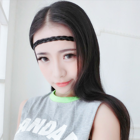 Aliexpress Com Buy 1cm Braided Wig Headband New Arrival