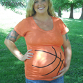 Беременные Материнства Футболки Баскетбол Шорты Повседневная Беременность Одежда Для Беременных Clothing Gravida Хлопок Vestidos YL522