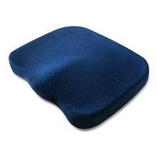 Travel Breathable Seat Cushion Coccyx Orthopedic Memory Foam