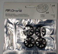 4X Parrot AR. Drone 1.0 2.0 App-Controlled Quadricopter gear & shaft set