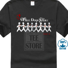 Creative Short Sleeve Tee Times Men'S Three Days Grace Band Gone Forever Black T Shirt Short Crew Neck T Shirts For Men(China)