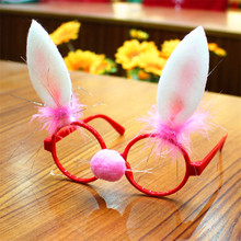 Glasses Christmas-Ornaments Decor Frame Evening-Party-Toy Funny Xmas Spectacle Gifts