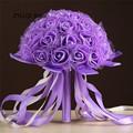 ZYLLGF Свадебные На Складе Свадебное с Цветами в Руках Букет Искусственный Букет Де Casamento Mariage Свадебные Аксессуары WF3