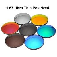 BAONONG 1.67 Capa de Espejo Lentes de Prescripción Óptica Lentes de gafas de Sol de Espejo de Recubrimiento de acabado