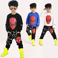 2016 Spring and Autumn Boys Children Clothing Sets Long Sleeve Tops + Trousers Two-piece Spider-Man Clothing Sets Sport Set