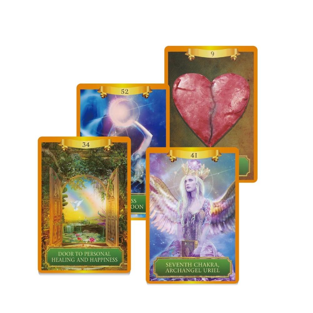 2018 englisch energie & power oracle karten deck 53 karten, tarot karten beratung-divination vermögen Englisch bord spiel