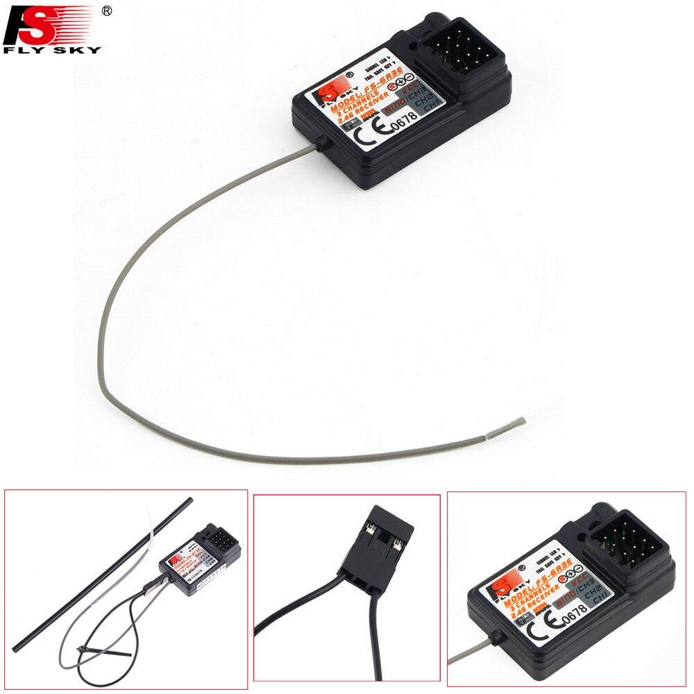 10 개/몫 Flysky FS GR3C FS GR3E FS GR3F 2.4G 3CH 페일 RC 자동차 FS GT3 FS GT2 FS GT3C 송신기-에서부품 & 액세서리부터 완구 & 취미 의  그룹 1