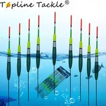 Topline Tackle 10pcs/Lot Carp Fishing Buoy Floats Bobber Fluorescent Lightstick  Material Float For Accessory