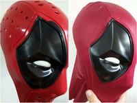 Cosplay Deadpool faceshell for deadpool costume mask with Magnetic Lenses lens Halloween Prop Gift