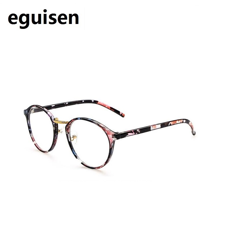 Retro myopia optical degree eyeglasses frames reading glasses transparent frame for women female goggles spectacle frames 066 in Women 39 s Eyewear Frames from Apparel Accessories