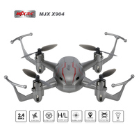New Arrival MJX X904 RC Mini Drone 4CH 6 Axis Gyro RTF RC Quadcopter With One