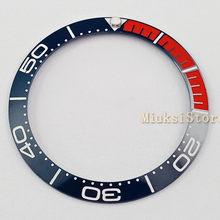 Lunette en céramique pour hommes/femmes, 38mm, bleu marine, bleu, noir et rouge, haute qualité, nouvelle collection