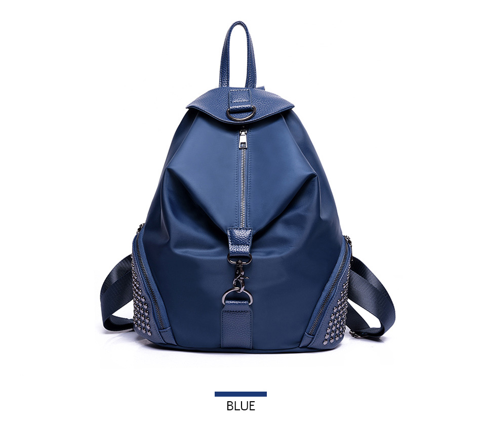 6a9da357f233 DIZHIGE Brand Nylon Backpack Women Vintage School Bags For Girls ...