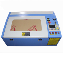 3040 40W color touch panel mini craft laser cutting machine  HF-3020 3040 co2 40w automatic fabric cutting machine 3020 mini co2 laser engraving cutting machine 40w for wood stamp acrylic