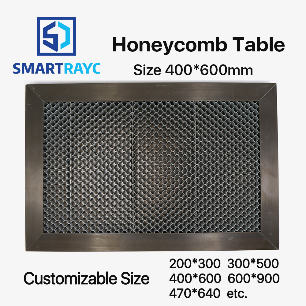 Smartrayc Honeycomb Table 400*600 mm Customizable Size Board Platform Laser Parts for CO2 Laser Engraver Cutting Machine honeycomb 300 400 mm laser working platform table for co2 laser engraver and cutting machine