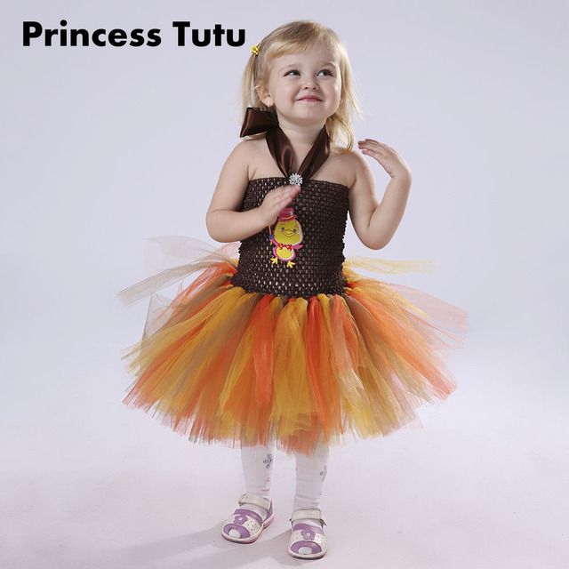 hot sale halloween costume for girl 10 12 cute prom dresses kids cartoon chick cosplay