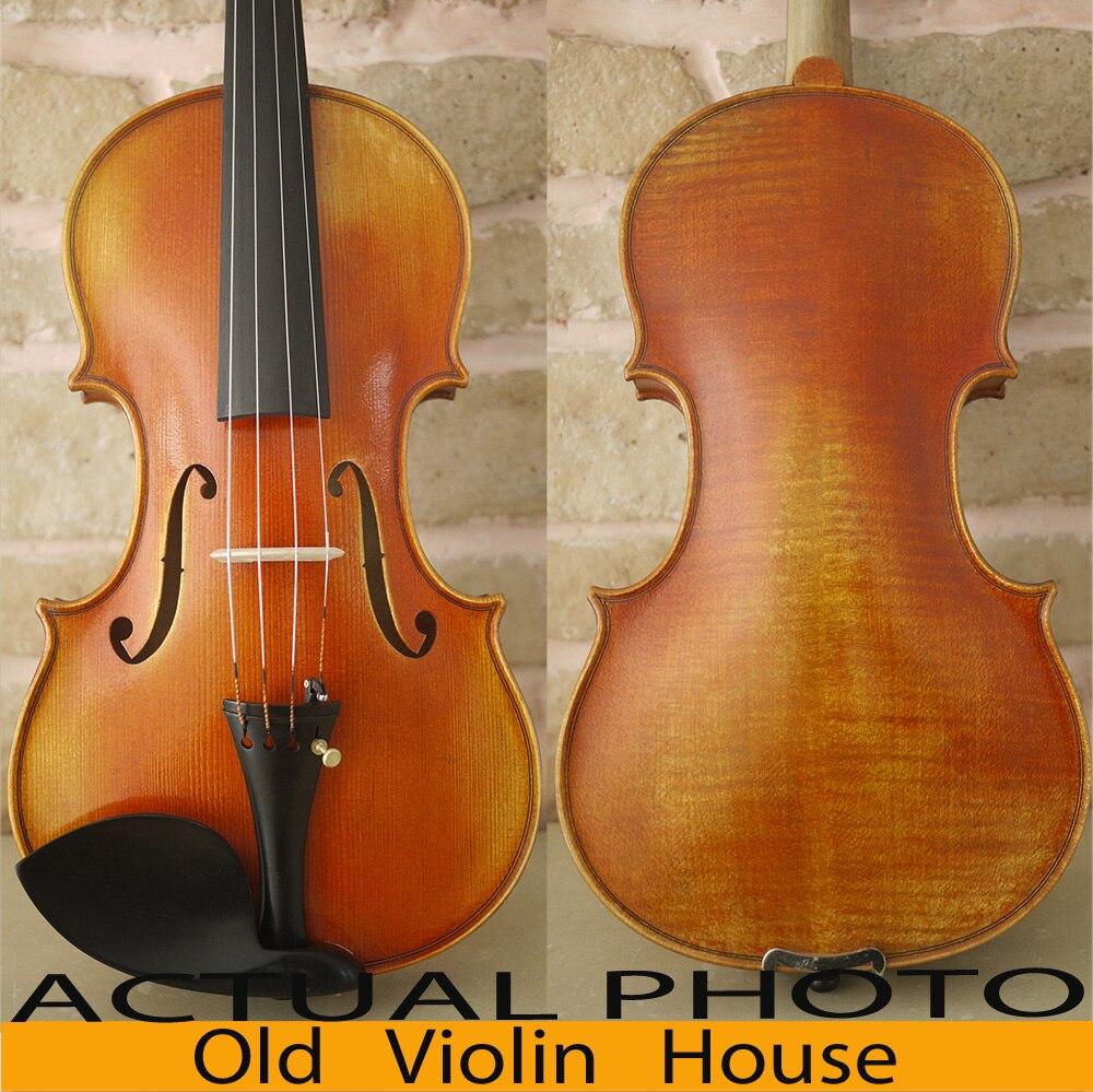 100% Handmade Stradivarius Cremonese 1715 Violin Model, Antique varnish,Free violin case , bow and rosin, No.2450 copy of stradivarius cremonese 1715 violin 100% antique varnish free violin case bow and rosin no 2720