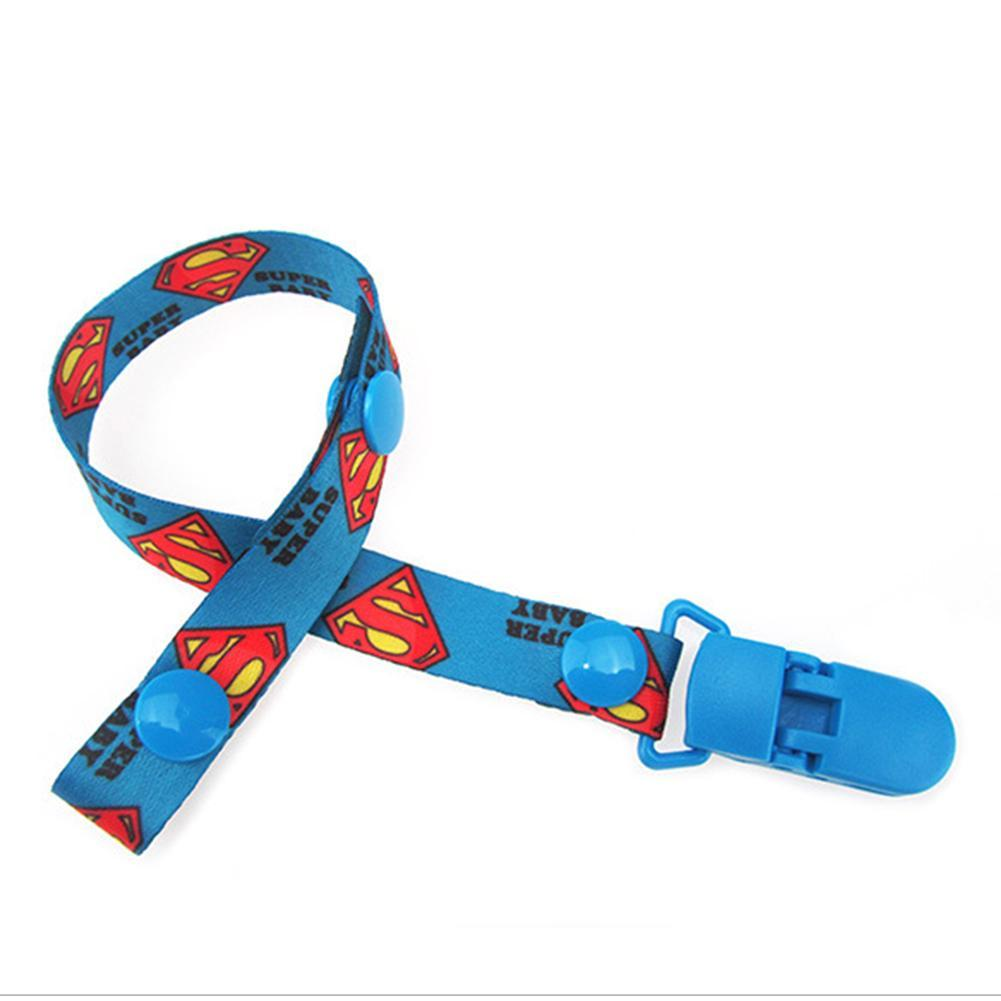 1 Pc Enssu Baby Pacifier Clip Chain Dummy Clip Nipple Holder For Nipples Chupetas Para Superman Pacifier Clips Soother Holder