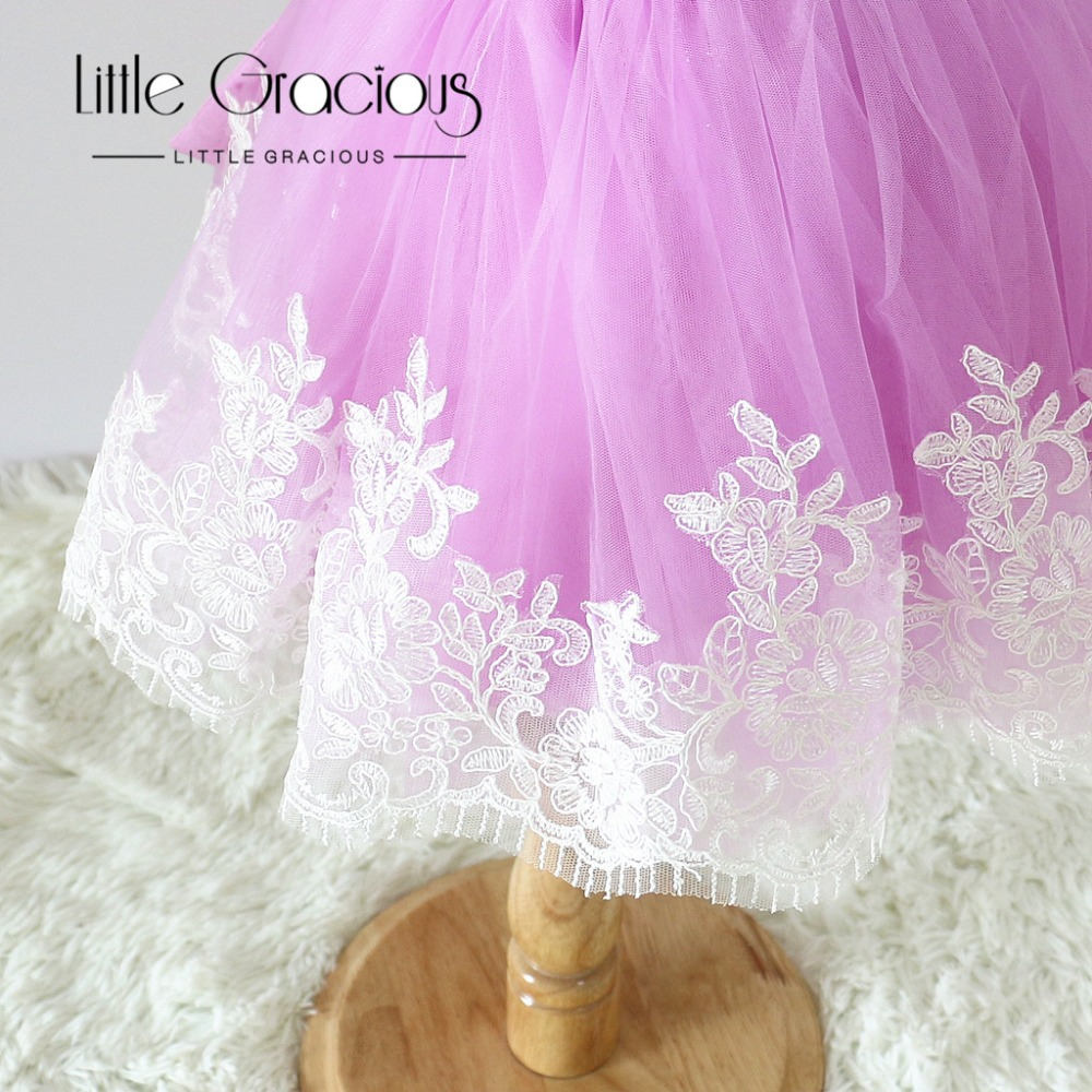 560e3fa11 100% Real Picture  Handmade Lavender pageant dress Toddler Easter ...