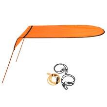 Каяк Лодка каноэ Солнцезащитный козырек Солнцезащитный навес для лодки Топ гребные лодки Крышка Тени для палаток навес от дождя