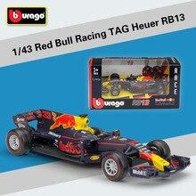 1:43 Масштаб 2017 F1 Формула 1 Red Bull Racing тег Henuer RB13 RB12 Racer № 33 Ферстаппен No3 Даниэль литья под давлением модели автомобиля игрушки