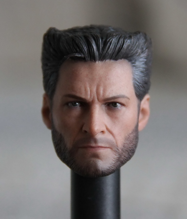 1/6 X-men Logan Head Sculpt 4.0 Version Wolverine Head Carving Hugh Jackman Model Collections for 12 inches Male Figures 1 6 scale wolverine 3 hugh logan head sculpt clone version with short hair for 12 inches male bodies dolls figures gifts toy