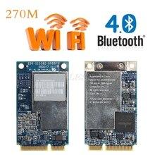 Высокое качество 2,4G+ 5G 270M Двухдиапазонная LAN Wifi Беспроводная мини PCI-E беспроводная сетевая карта для Apple ноутбука BCM94321MC