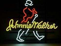 Niestandardowe Johnnie Walker szkło znak światła Neon Beer Bar
