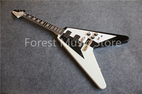 Custom Shop Block Inlay Rosewood Fretboard Suneye Flying V Electric Guitar China OEM Left Handed Available