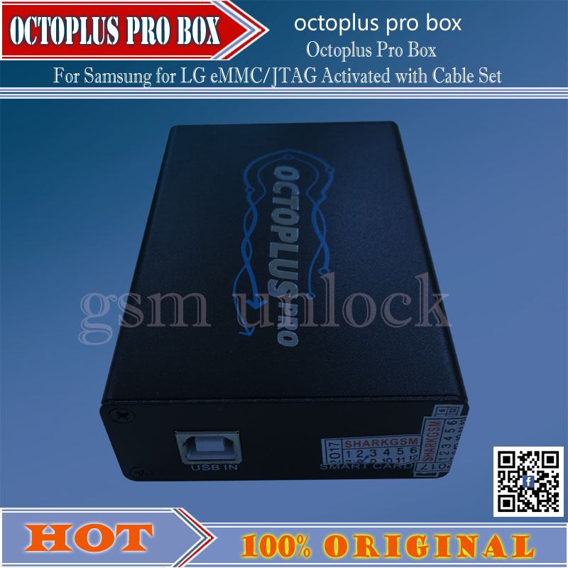 Gsmjustoncct Gsmjustoncct Version Octoplus Pro Box EMMC / JTAG Activated 19 Cable Set For Sam And For Lg